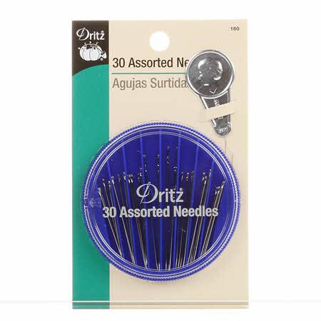 Prym Dritz Assorted Hand Needles with Threader in Dispenser 30ct - 160