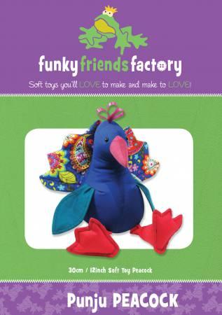 "Punju Peacock12""  Stuffed Soft Toy"