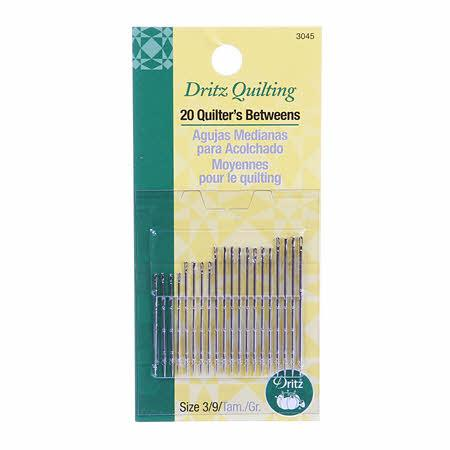 Quilter's Between / Quilting Needles Sizes 3/9 20ct - 3045PD
