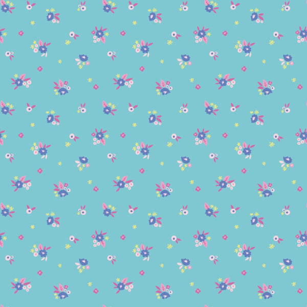 Rainbowsaurus-Flowers Blue 27190404-01