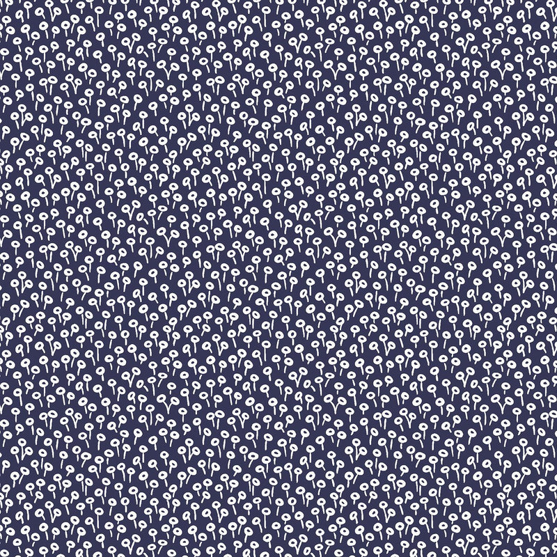 Rifle Paper Co Basics-Tapestry Dot Navy RP501-NA3