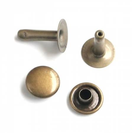 Rivet Set Antique 24ct Large