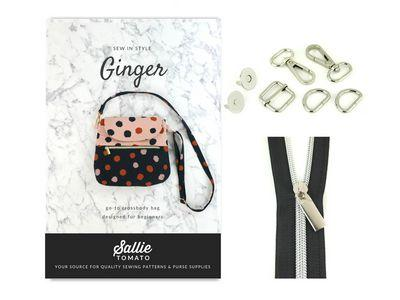 Sallie Tomato Purse Of The Month Kit-Ginger STPOM1