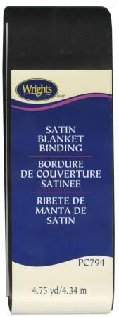 Satin Blanket Binding Black - 117794031