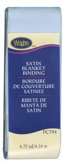 Satin Blanket Binding Blue - 117794052