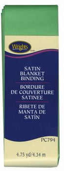 Satin Blanket Binding Green - 117794922