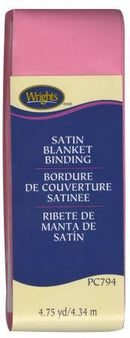 Satin Blanket Binding Hot Pink - 117794904