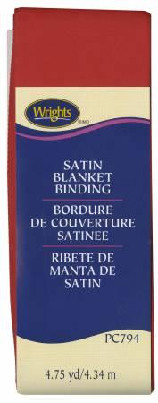 Satin Blanket Binding Red 117794065