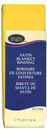 Satin Blanket Binding Yellow - 117794079