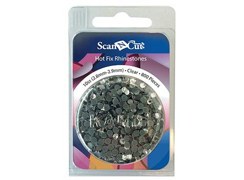 Scan-N-Cut Clear Rhinestones 10SS Refill Pack CARS10C
