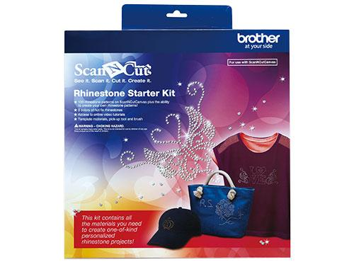 Scan-N-Cut Iron-On RhinestoneStarter Kit CARSKIT1