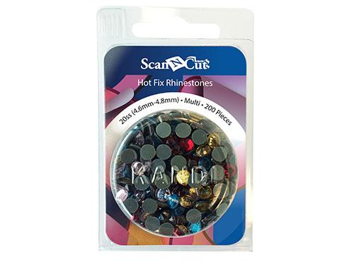 Scan-N-Cut Multi-Color Rhinestones 20SS Refill Pack CARS20M