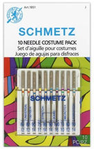Schmetz 10 Needle Costume and Cosplay Pack 1851