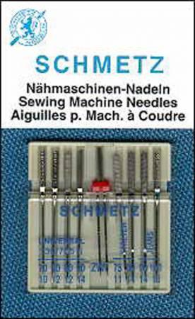 Schmetz Combination Pack Machine Needle 9ct 1750