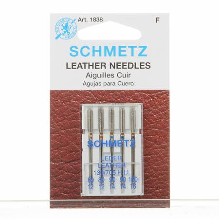 Schmetz Leather Machine Needle Size 80/90/100 - 1838