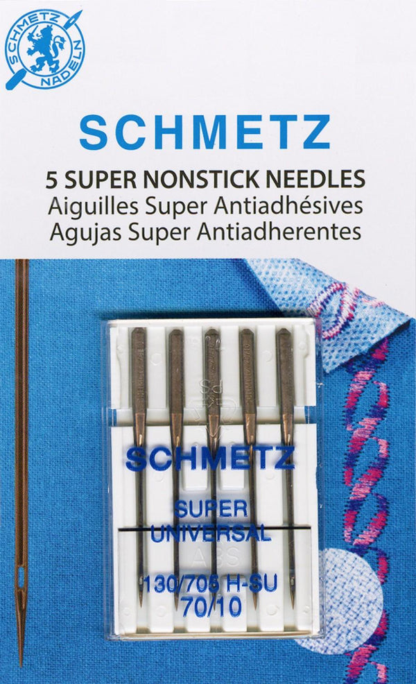 Schmetz Super Nonstick Needles 5ct size 70/10