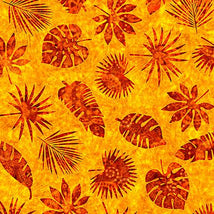 Serengeti-Palm Leaves Yellow  1649-27767-S