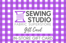 Gift Card In-Store (Physical Card)