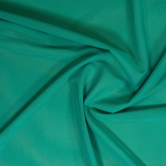 Sheer Stretch Mesh Jade Green43