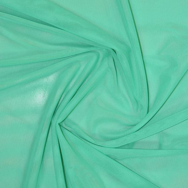 Sheer Stretch Mesh Mint