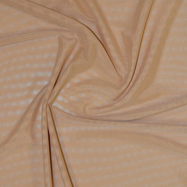 Sheer Stretch Mesh Mocha 62
