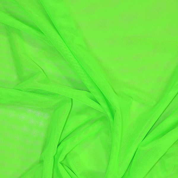 Sheer Stretch Mesh Neon Green07