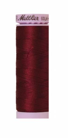 Silk-Finish Bordeaux 50wt 150M Solid Cotton Thread