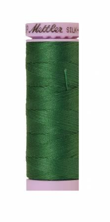 Silk-Finish Bright Green 50wt 150M Solid Cotton Thread