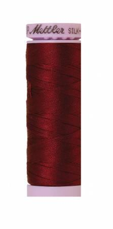 Silk-Finish Cranberry 50wt 150M Solid Cotton Thread