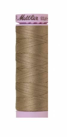 Silk-Finish Khaki 50wt 150M Solid Cotton Thread