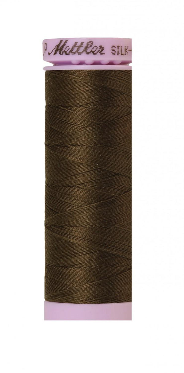 Silk-Finish Olive 50wt 150M Solid Cotton Thread