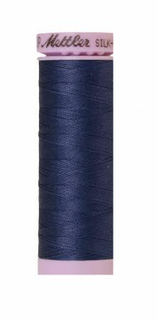 Silk-Finish True Navy 50wt 150M Solid Cotton Thread