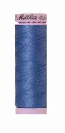 Silk-Finish Tufts Blue 50wt 150M Solid Cotton Thread