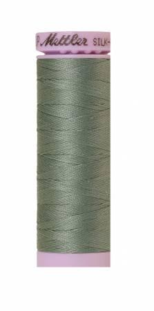 Silk-Finish Vintage Blue 50wt 150M Solid Cotton Thread