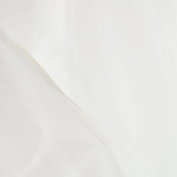 Silk Organza Pageant-White 54""