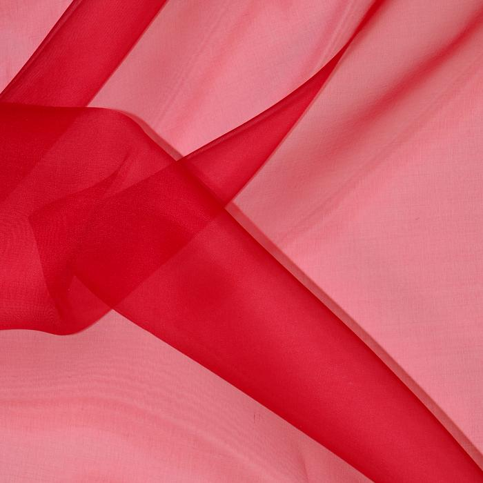 Silk Organza Red 27102-05