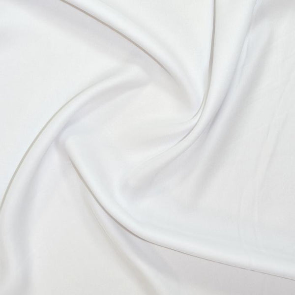"Silk Touch Satin Chiffon 58"" SAT-CHIF-1White"