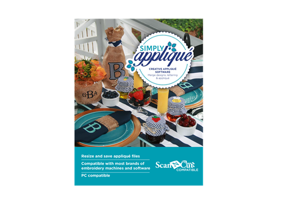 Simply Applique, Creative Applique Software