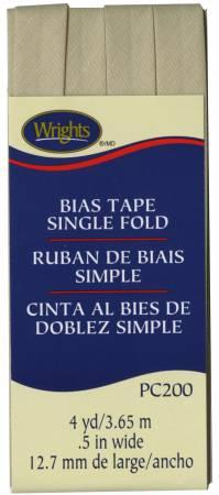 Single Fold Bias Tape Khaki- Wrights 117200097