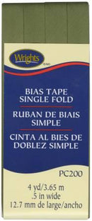 Single Fold Bias Tape Leaf- Wrights 1172001239