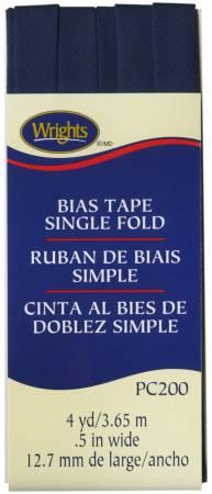 Single Fold Bias Tape Navy- Wrights 117200055