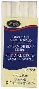 Single Fold Bias Tape Oyster- Wrights 117200028