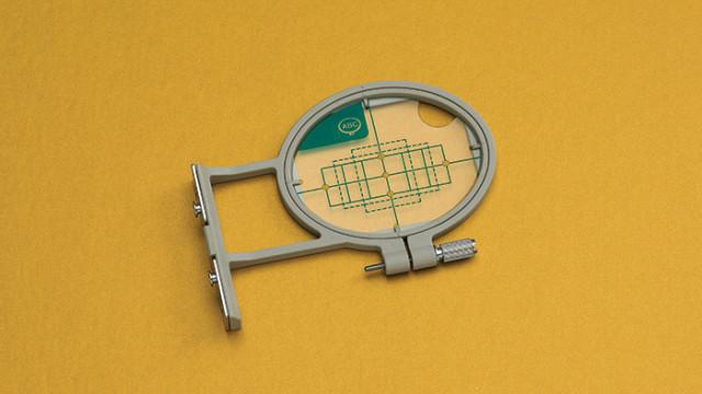 "Small Embroidery Frame & Grid  1""x2.5"" - Babylock EF61"