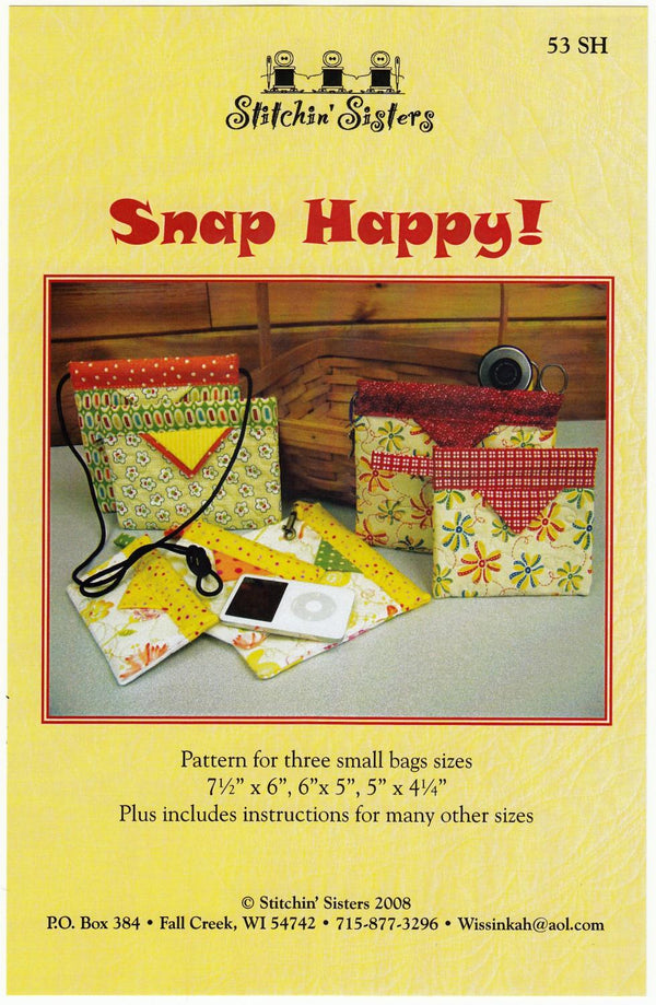 Snap Happy Pattern - 53SH
