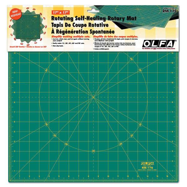 "Spinning Square Cutting Mat 17"" X 17"""