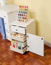 Suzi White Arrow Cabinet
