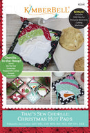 That's Sew Chenille Christmas Hot Pads Machine Embroidery