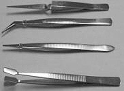 Tweezer 4-pc Stainless Set BT-012