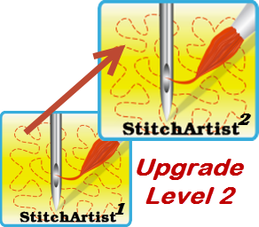 UPGRADE Stitch Artist Level 2