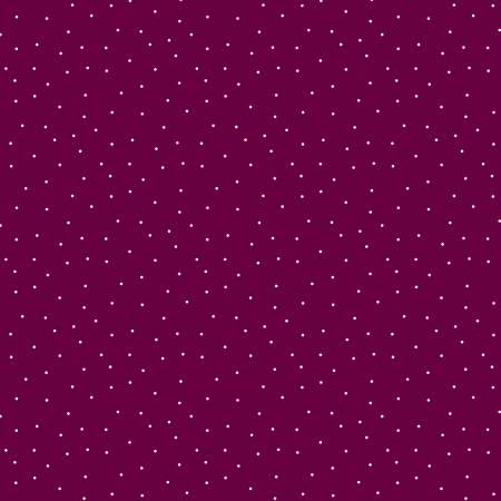 Essentials Pindots-Merlot/White 39131-631